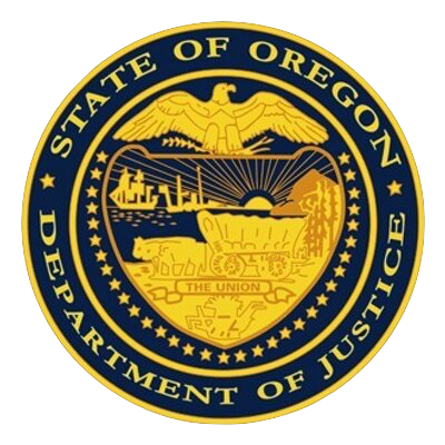 Oregon Department of Justice logo